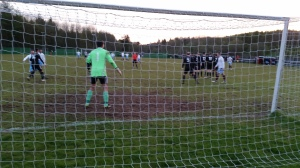 I didn't stand behind the net all match, that would have been stupid!