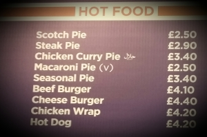 Pies. Still cheaper than a burger.